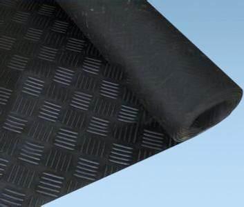 五杠纹防滑橡胶板